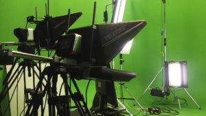 Оборудование для съемки новостей в хромакей