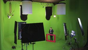 Съемки телепередачи в хромакей павильоне комплекса Хромакей Центр
