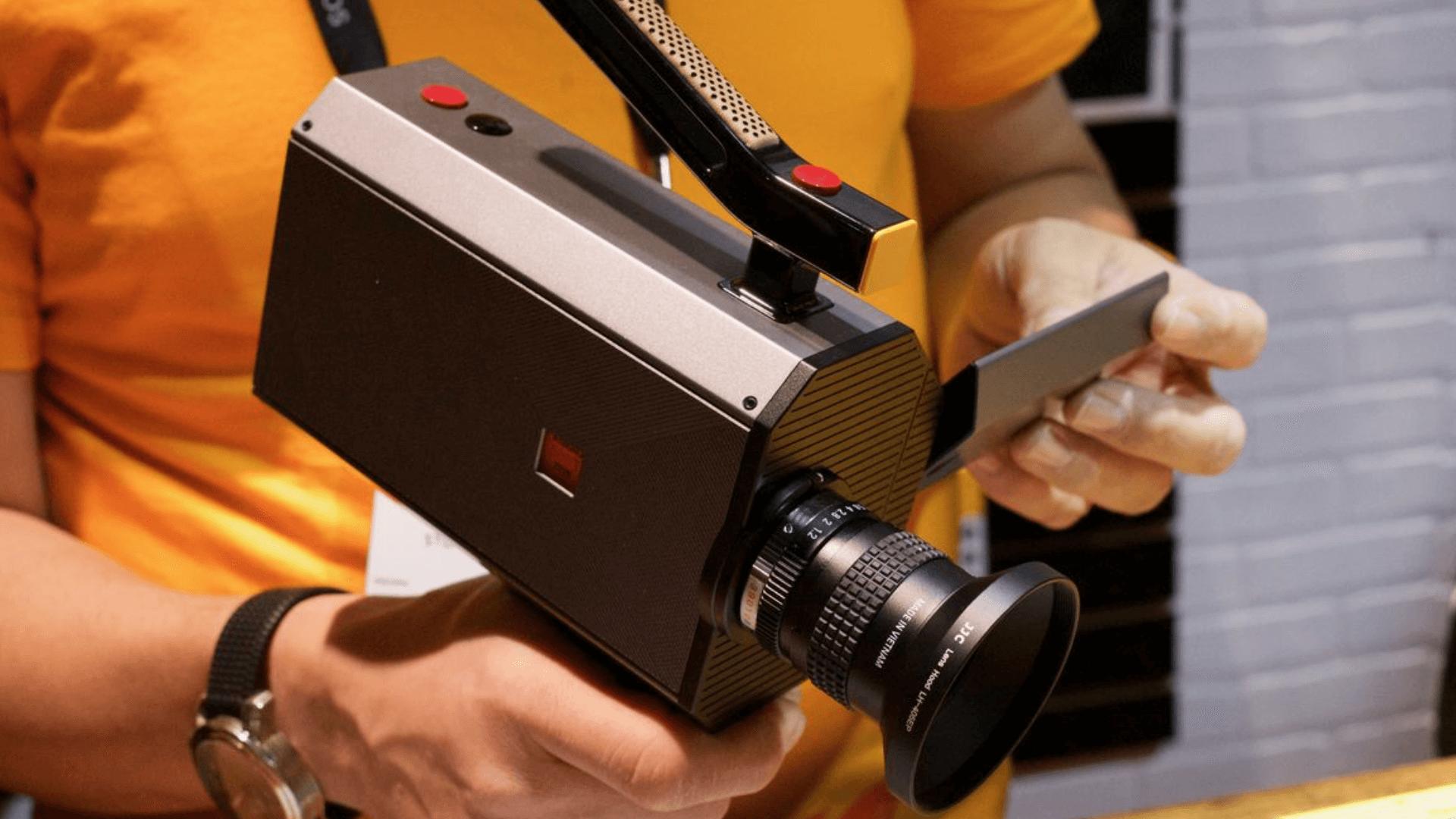 Kodak Super 8 камера вернулась на CES 2017