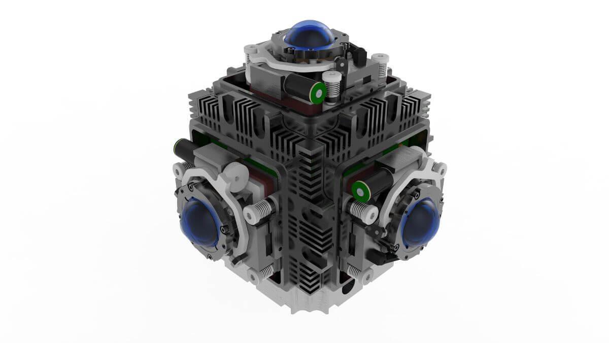 Новая камера 360 для VR кинопроизводства. PMast