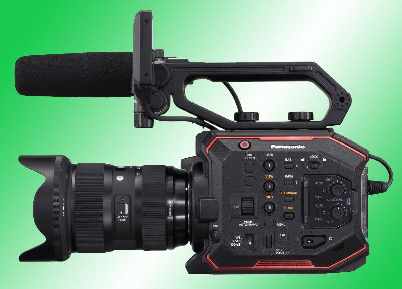 Panasonic AU-EVA1 – новая 5.7K Super35 камера