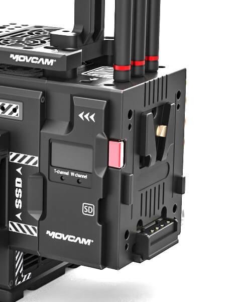 Movcam RED I/O модуль для камер RED DSMC2